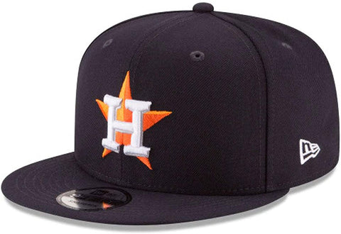 New Era 9FIFTY MLB Houston Astros Team Color Basic 9FIFTY Snapback Hat Navy