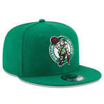 New Era 9FIFTY NBA Boston Celtics Team Basic Adjustable Snapback Green