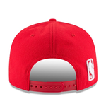 New Era 9FIFTY NBA Chicago Bulls Team Basic Adjustable Snapback Hat Red