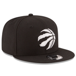 New Era 9FIFTY NBA Toronto Raptors Team Basic Adjustable Snapback Black