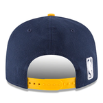 New Era 9FIFTY NBA Indiana Pacers Team Basic Adjustable Snapback Hat Navy 2 Tone