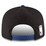 New Era 9FIFTY NBA New York Knicks Team Basic Adjustable Snapback Black 2 Tone