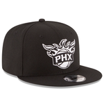 New Era 9FIFTY NBA Phoenix Suns Team Basic Adjustable Snapback Black