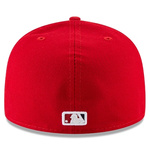 New Era 59FIFTY MLB Washington Nationals Authentic Collection Fitted Hat Red