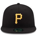 New Era 59FIFTY MLB Pittsburgh Pirates Authentic On-Field Fitted Hat Black