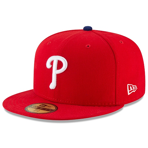 New Era 59FIFTY MLB Philadelphia Phillies Authentic Collection On-Field Fitted Hat Red