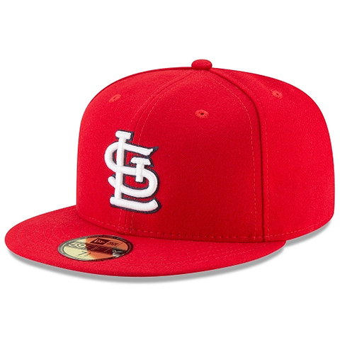 New Era 59FIFTY MLB St. Louis Cardinals Authentic Collection Fitted Hat Red
