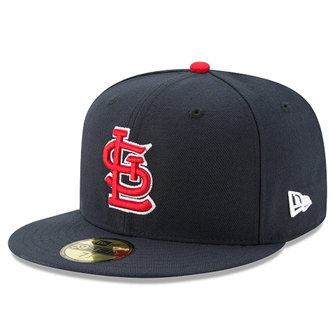 New Era 59FIFTY MLB St. Louis Cardinals Authentic Collection Fitted Hat Navy