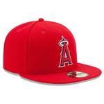 New Era 59FIFTY MLB Los Angeles Angels Authentic Collection On-Field Fitted Hat Red