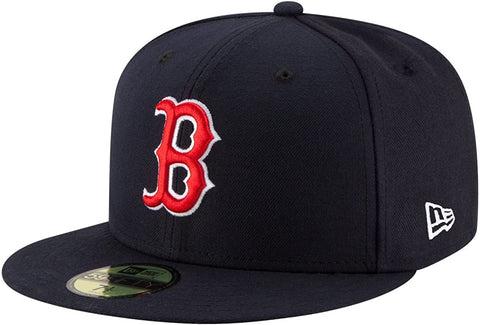 New Era 59FIFTY MLB Boston Red Sox Authentic Collection On Field Fitted Hat Navy