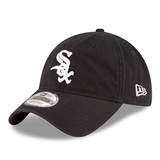 New Era MLB Chicago White Sox Black Core Classic Twill 9Twenty Adjustable Hat