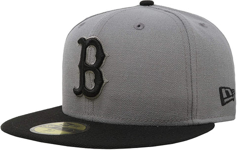 New Era 59FIFTY MLB Boston Red Sox Storm Gray Basic Fitted Hat