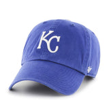 '47 MLB Kansas City Royals Clean Up Adjustable Hat Royal Blue