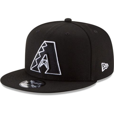 New Era MLB Arizona Diamondbacks 9FIFTY Snapback Hat Black&White