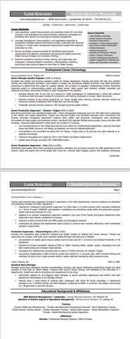 Basil Coaching Services - Executive Resume Sample