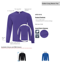 Concentrates by Kind Selections Long Sleeve T-Shirt - Royal