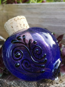 Heady Skull Glass Jar (Purple) - Chris Bruneau x Kind Selections Collaboration