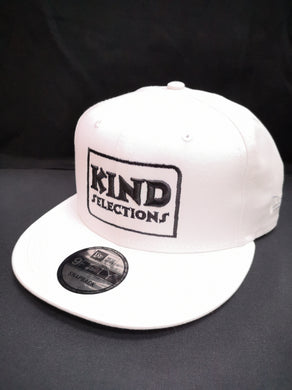 Kind Selections 9FIFTY Snapback Flat Billed - White