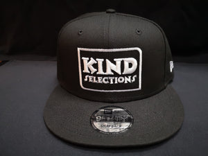 Kind Selections 9FIFTY Snapback Flat Billed - Black