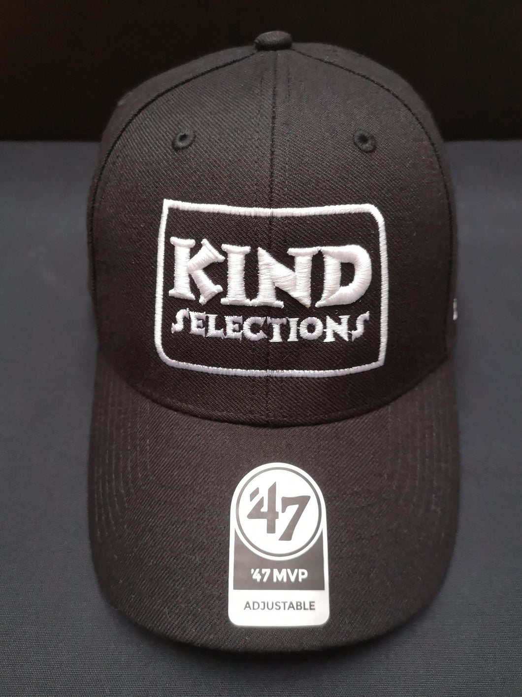 Kind Selections Classic '47 MVP Cap - Black