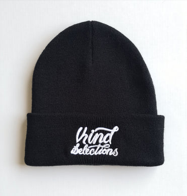 Sloth King Design Limited Edition Knit Beanie - Black