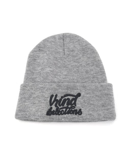 Sloth King Design Limited Edition Knit Beanie - Gray