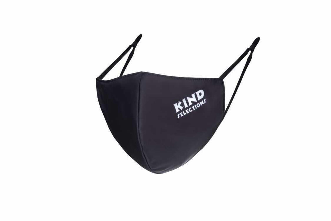 Kind Selections Japanese Medi Fabric Reusable Masks by Green Sisters Creations - Black