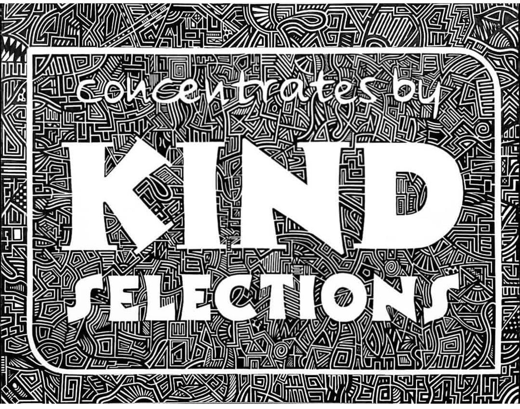 Limited Edition T-Shirt by Tye Dye Guy x Kind Selections - Black