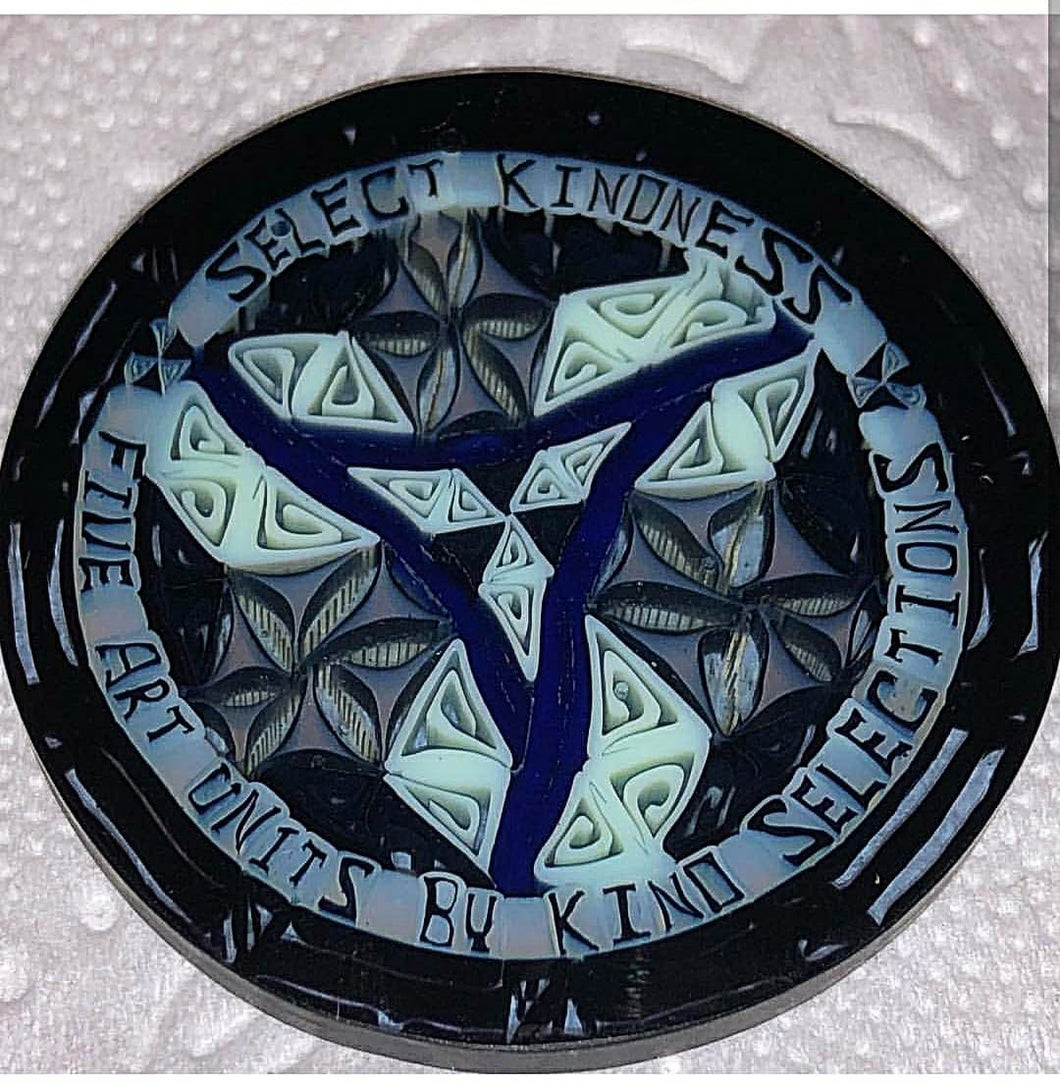 Kind Selections Glass Coin 5 Art Units