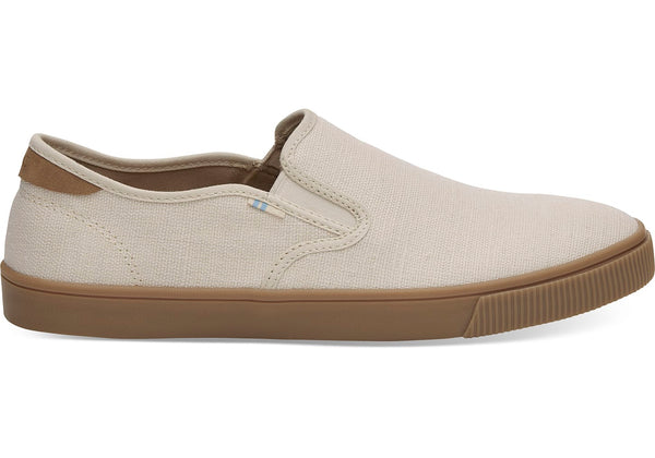 Birch Heritage Canvas Gum Men's Baja Slip-Ons