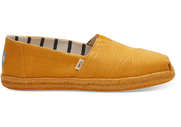 Gold Fusion Canvas Women's Espadrilles