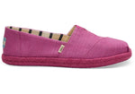 Red Plum Canvas Women's Espadrilles