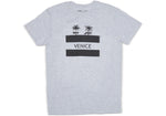 TOMS Venice Heather Grey Short Sleeve Crew Neck Tee