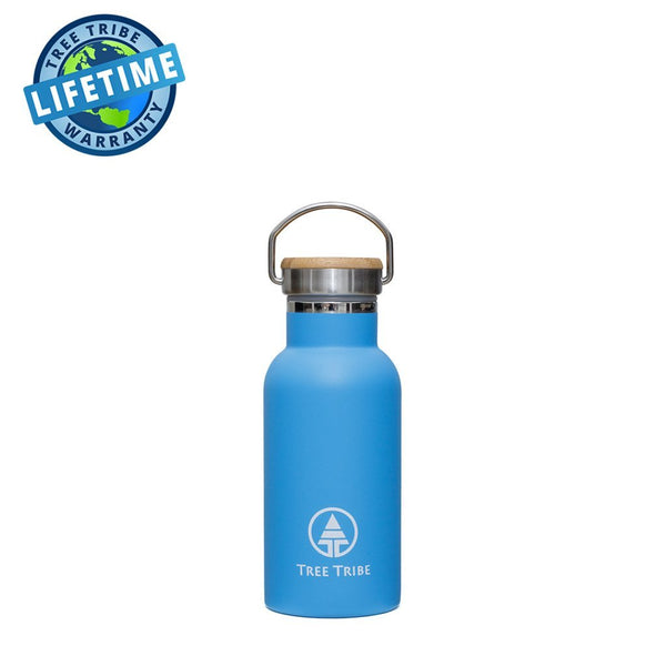 Blue Tribe Logo Steel Bottle - 12 oz