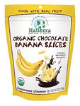 Natierra Nature's All Foods Organic Freeze-Dried Snacks, Chocolate Covered Banana Slices, 4 Ounce
