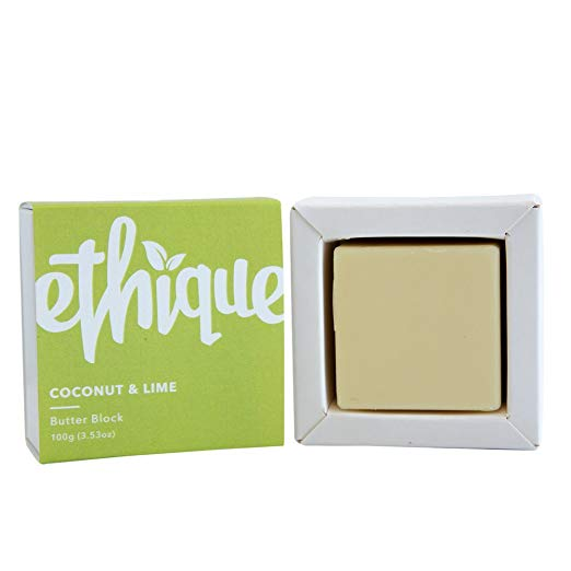 Ethique Eco-Friendly Butter Block, Coconut & Lime