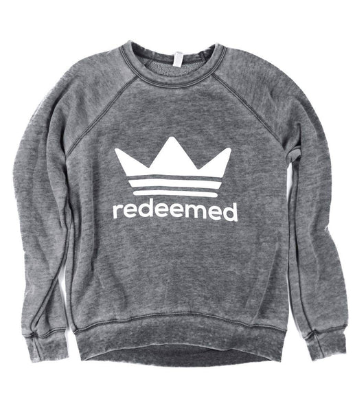 Redeemed Acid Wash Pullover