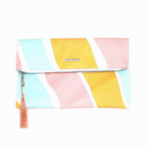 Stripes Not Stripes Clutch
