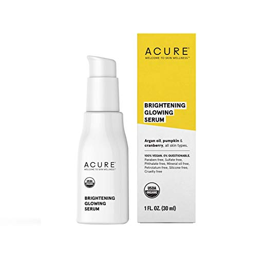 Acure Brightening Glowing Serum, 1 Fl. Oz.