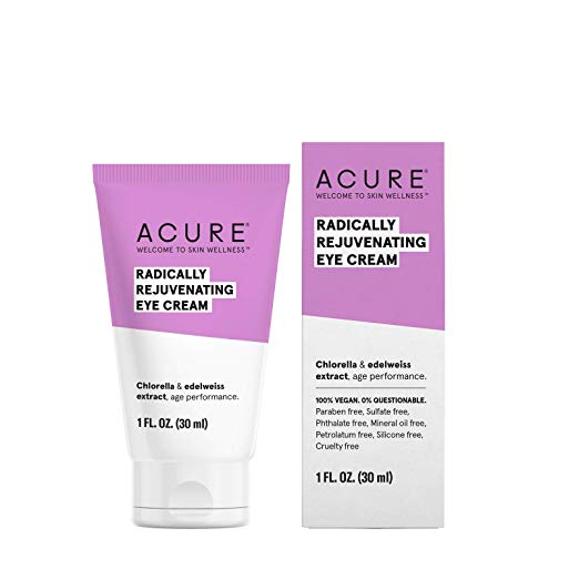 ACURE Radically Rejuvenating Eye Cream, 1 Fl. OZ.
