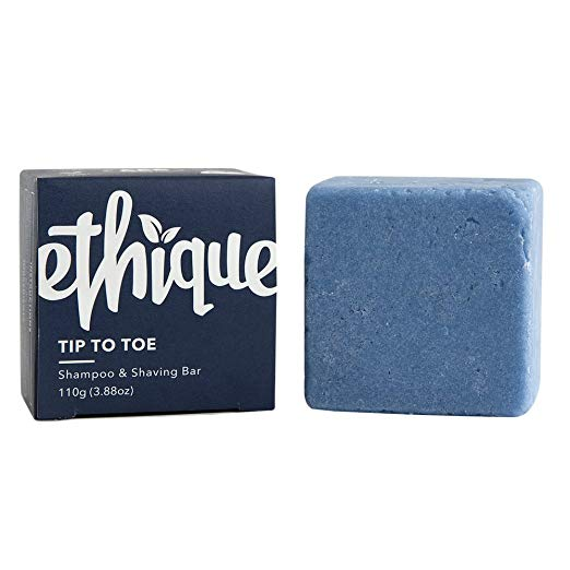 Ethique Eco-Friendly Solid Shampoo & Shaving Bar, Tip To Toe
