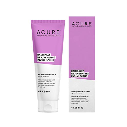 ACURE Radically Rejuvenating Facial Scrub, 4 Fl. Oz.