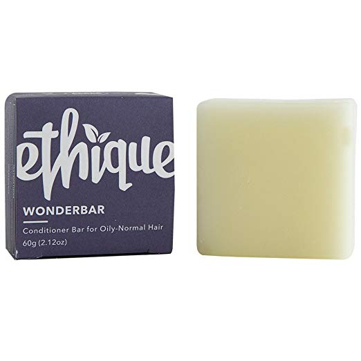 Ethique Eco-Friendly Conditioner Bar for Oily-Normal Hair, Wonderbar