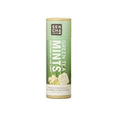 Sencha Naturals Eco Tube Ginger Lemongrass Mints