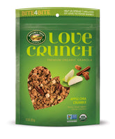 Organic Love Crunch Premium Granola, Apple Chia Crumble, 11.5 Ounce (Pack of 6)