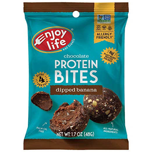 Grab & Go Protein Bites, Dipped Banana