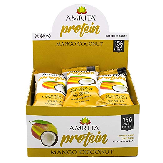 Mango Coconut High Protein Bars