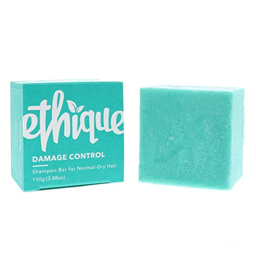 Ethique Eco-Friendly Solid Shampoo Bar for Normal-Dry or Slightly Damaged Hair, Damage Control