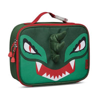 Bixbee Kids Insulated Lunchbox Dinosaur, Green