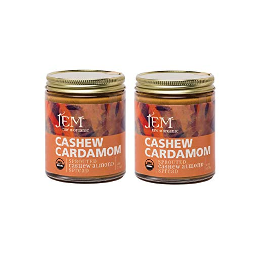 Cashew Cardamom Butter Spread 6 oz (2 Pack)